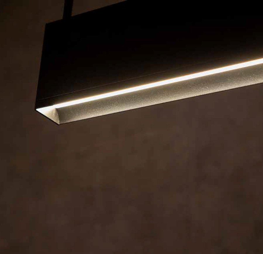 Groove 40 – Wall Washer Pendant Direct-Indirect
