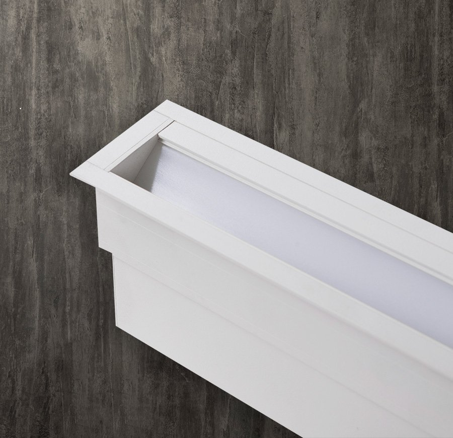 Groove 40 Wall Washer – Recessed With Trim